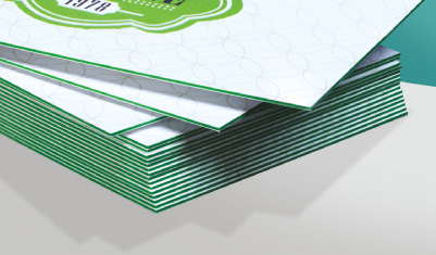 Triple layer business cards deluxa printing home shop business cards colourmoves