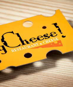 home shop business cards - Custom Die Cut Business Cards
